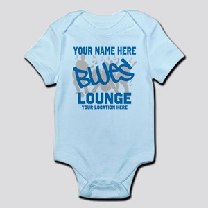 Custom Blues Lounge Body Suit